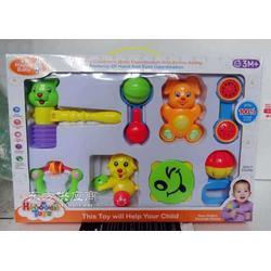搖鈴鈴鼓響錘床鈴嬰兒童幼兒園套裝組合音樂玩具圖片