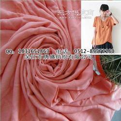 竹纤维竹节面料-服装面料图片