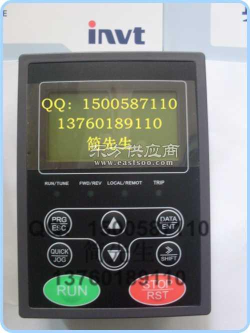 英威腾变频器键盘液晶面板chv160a系列供水专用键盘批发