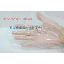 符合食品级标准一次性PE塑料手套图片