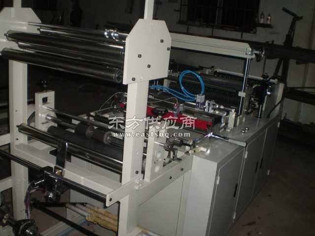 微机塑料折边机 卧式薄膜分切机图片