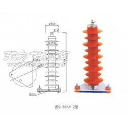 YH5WZ-42/134 氧化锌避雷器图片