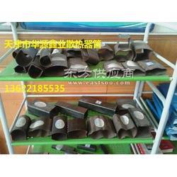 散热器专用钢管 D形钢管图片
