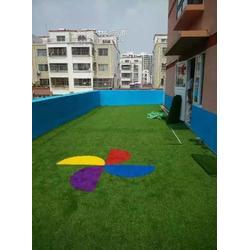 足球草坪施工图片