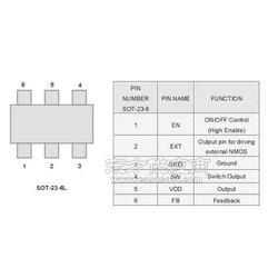 3.3V3.6V3.8V升壓IC-AX3001圖片