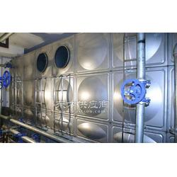 不锈钢方形组合水箱生活水箱消防水箱图片