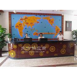 LOGO豪华酒店大堂各国时间屏图片
