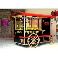 pizza流动餐饮车 户外方便美食售货车 可移动的图片