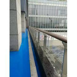 不锈钢玻璃阳台栏杆-不锈钢玻璃阳台栏杆图片
