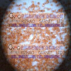 石榴石滤料图片