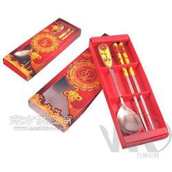 春节礼品餐具/福字贴花勺筷图片