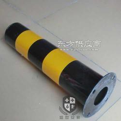 供应圆定路桩 挡车立柱 黑黄立柱图片