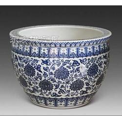景德青花瓷陶瓷缸圖片