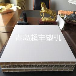PVC塑钢护栏板型材生产线 超丰塑料机械图片