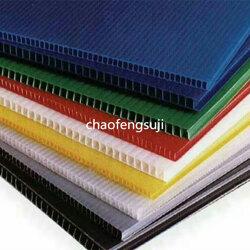 超丰塑机 哪里有卖中空格子板生产线-中空板生产线图片