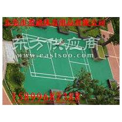 盈通体育承接各种丙烯酸网球场篮球场羽毛球场图片