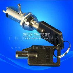 1098电源锁 1001钩子锁 车载DVR硬盘锁机械转舌锁图片