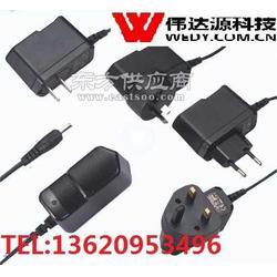 國標歐規美規韓規插墻式12V1A電源適配器圖片