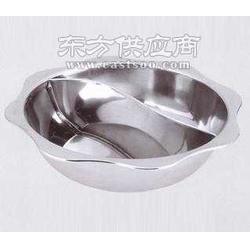 不锈钢太阳格盆格锅火锅图片
