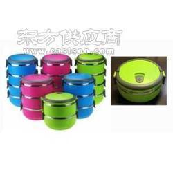 不锈钢彩色保温食格食篮饭篮图片