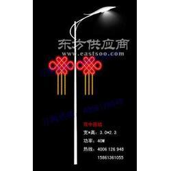 灯杆造型灯LED中国结-?#26102;?年 哥力照明图片