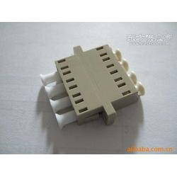 LC四联光纤法兰盘生产厂家图片