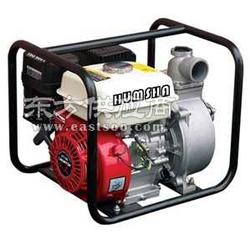 6寸水泵 电启动汽油抽水机水泵图片
