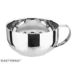 供应不锈钢韩式双层泡面碗图片