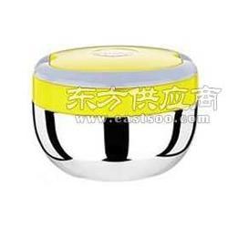 供应不锈钢韩式保温饭盒双扣乐扣饭盒图片