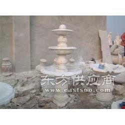 圆融石雕喷泉图片