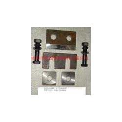 轨道压板 双孔压板图片