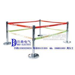304不锈钢立柱伸缩带子围栏L6生产厂家规格图片