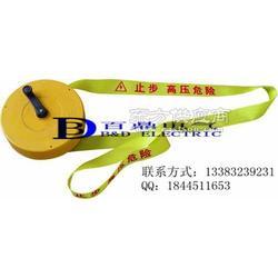 施工现场警示带L6丙纶织带蓝色警示带规格生产厂家图片