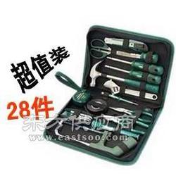 世达工具手用工具 家用工具套装28件基本维修组套图片
