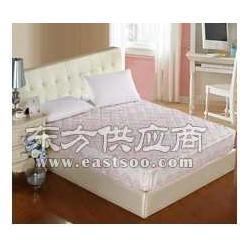 供应红色床罩床笠图片