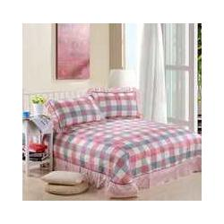 供应韩版蕾丝床盖三件套图片