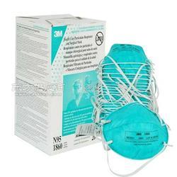 防护H7N9流感 3M1860医用口罩图片