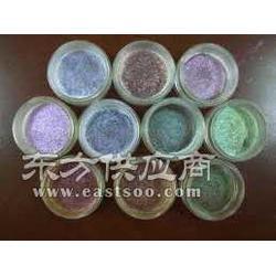 彩色珠光粉系列 幻彩蓝玫瑰红 果绿 厂家直销产品图片