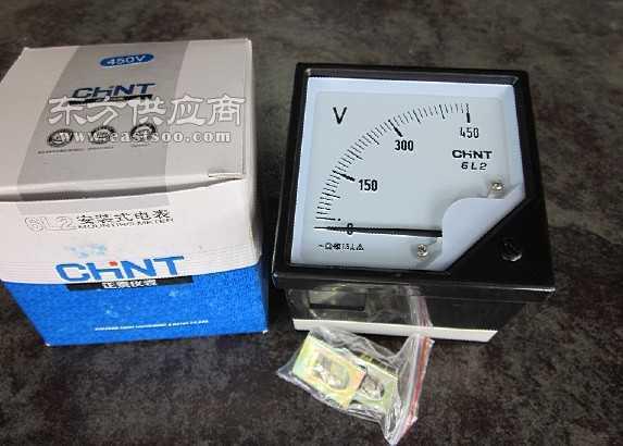 正泰 交流电压表 6l2-450全新 原装价格
