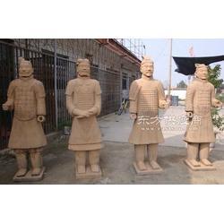 古城有古董兵马俑出口摆件 陶瓷工艺品 仿真兵马俑图片