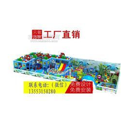 淘气堡儿童游乐园图片