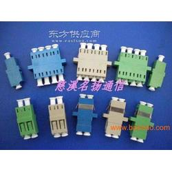 LC单联耦合器LC四联连接器LC四联金属适配器图片