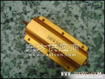 金色铝外壳电阻