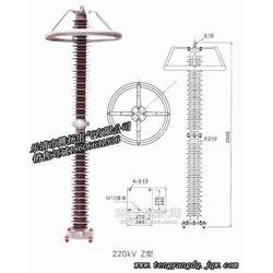 HY10WZ-200/520氧化锌避雷器220KV电站型避雷器图片