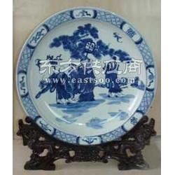 青花瓷盘子,找生产陶瓷盘子的厂家,定制盘子厂图片