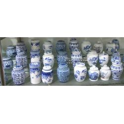 不同规格的青花瓷陶瓷罐,陶瓷罐,陶瓷茶叶罐生产厂图片