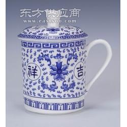 家用青花陶瓷杯子/水杯/婚庆礼品杯子图片