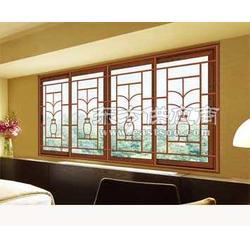 住宅小区防护窗铝合金窗防护窗高层窗户防护窗图片