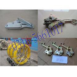 铝合金导线卡线器双桃卡线器铁卡线图片