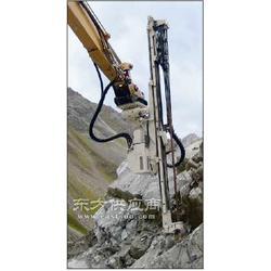 快速钻孔一分钟一米挖机改液压钻机图片